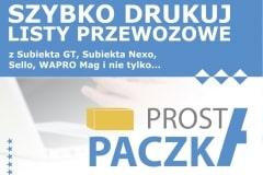 Szczególy programu do wydruku listów przewozowych z Sello, Subiekta GT, Subiekta nexo i WAPRO Maga