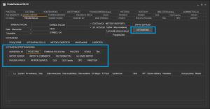 Sello - otwieranie konfiguracji przetwarzania na list