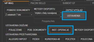 WAPRO Mag - uruchomienie instalacji skryptów operacji dodatkowych