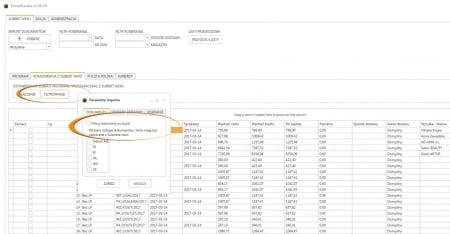 Subiekt nexo - konfiguracja pobieranych dokumentów