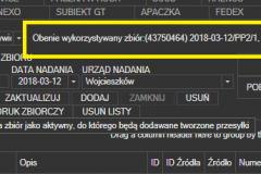 Poczta Polska - wykorzystywanie zbioru
