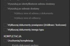 Subiekt GT - łączenie dokumentów w jeden list przewozowy