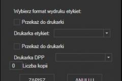 InPost - ustawienia wydruku listu