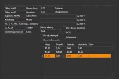 DPD - formularz edycji listu przygotowanego z Subiekta GT