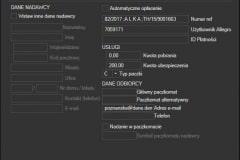 Allegro Inpost - edycja danych listu utworzonego z Sello