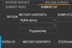 Subiekt GT - otwieranie ustawień importu dokumentów