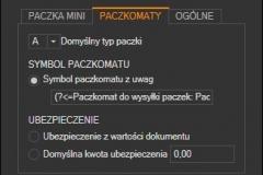 WAPRO Mag - ustawienia przesyłki Allegro InPost Paczkomaty