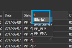 ProstaPaczka2 - filtr statusu przygotowania listu