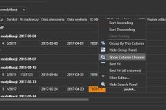 ProstaPaczka2 - filtrowanie pobranych danych