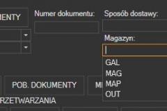 Subiekt nexo - filtry pobrania dokumentów