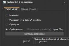 Subiekt GT - akcje po przygotowaniu etykiety nadawczej
